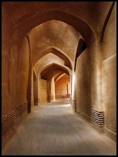Old Streets of Yazd, Iran