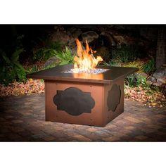 Cast Creations Maitre' D Fire Pit Table - C1035 - Fire Pit / Fire Table - Firetable Store