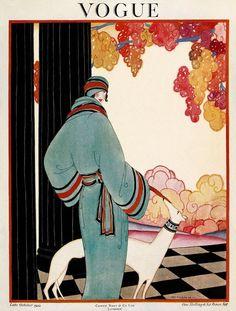 Revista Vogue, Octubre 1922. Condé Nast Corp