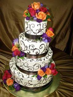 Wedding Cakes 015 by HoneyMoon Sweets Bakery in Tempe, AZ