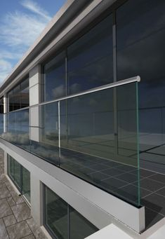 Glassfit new generation: hall-style hallways hallways and stairs
