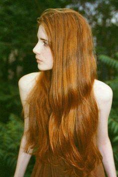 real hairy redhead bush