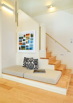Ideas Home Renovation Basement Ideas Home Room Design, Home Interior Design, Interior Architecture, Living Room Designs, Tiny House Layout, House Layouts, House Stairs, Staircase Design, Apartment Design