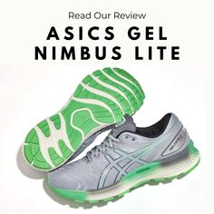 Although the Nimbus Lite may look like a classic ASICS trainer, it features materials and construction that give it a whole new feel. Read our testers thoughts on one of the most well received new shoes of the year. - Shop with Free Shipping and Free Returns at Running Warehouse! - #green #grey #gel #best #top #training #workout #health #fitness #footwear #shoes #jog #walk #nike #newbalance #hoka #altra #brooks #adidas #marathon #athletic #exercise #style #fashion #outfit #clothes #gym #sneakers Running Shoe Reviews, Lit Shoes, Footwear Shoes, Asics Shoes, How To Run Longer, Marathon, Jogging, Style Fashion, Trainers