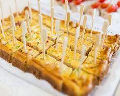 Bouchées de quiche fondante aux quatre fromages