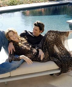 On Screen Couple Patrick Dempsey & Ellen Pompeo