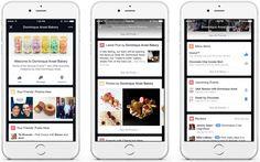 [Facebook] #FacebookPlaceTips Mostra agli utenti nelle vicinanze suggerimenti per i luoghi di interesse. Nel massimo rispetto della privacy: i contenuti visualizzati non vengono pubblicati sulla bacheca dell'utente e non verrà mostrato agli altri dove si trova. *Adesso attivabile su tutte le pagine*