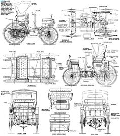 locomobile blue print - Google Search