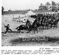 Start of Ky Derby. :: R. G. Potter Collection