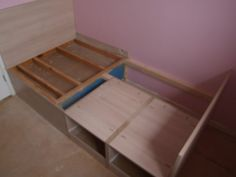 Cabin Bed And Matching Bedroom Furniture - The Cabin Bed Company Box Room Beds, Box Room Bedroom Ideas, Girls Bedroom, Bed Room, Stairs Bulkhead, Space Saving Beds, Building A Cabin, Bed Company, Built In Bed