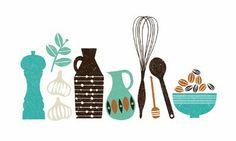 kitchen utensils    by Debbie Powell