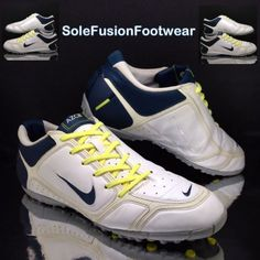 ea4b3d40f Nike mens AIR ZOOM Control Football Trainers White sz 12 Turf 5 Shoes US 13  47.5 | eBay