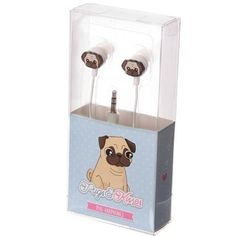 These ear-PUGS LOL. | 21 Gifts For People Who Just Really Love Pugs