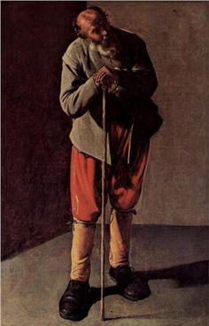 Old Man - Georges de la Tour