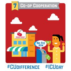 Credit unions and co-ops share the same people-first principles. #CUdifference #ICUday