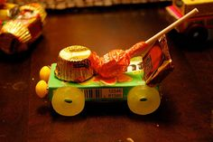 Make a Candy Tow Truck