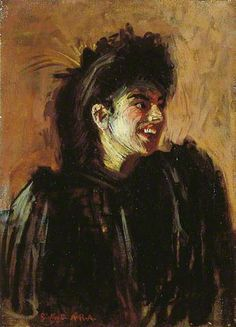 The Blackbird of Paradise - Walter Richard Sickert