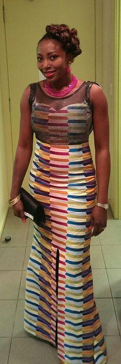 Ankara dress ~Latest African Fashion, African Prints, African fashion styles, African clothing, Nigerian style, Ghanaian fashion, African women dresses, African Bags, African shoes, Nigerian fashion, Ankara, Kitenge, Aso okè, Kenté, brocade. ~DKK