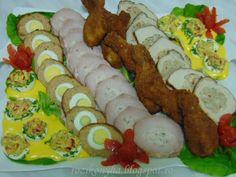 Rozi erdélyi,székely konyhája: Hidegtál, febr 4 Food Platters, Winter Food, Sushi, Appetizers, Meals, Cooking, Ethnic Recipes, Party, Kitchen