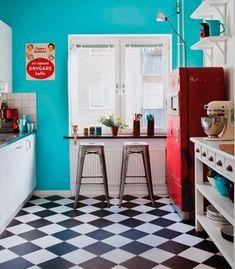 Dicas para usar estampa xadrez na sua casa!
