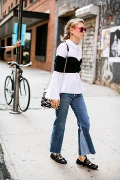 Flare Jeans for a Polished, Leggy Look