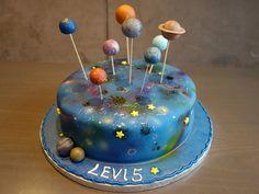 Birthday Fun, Birthday Cake, Birthday Parties, Science Cake, Galaxy Cake, Space Party, Dream Cake, Themed Cakes, Cake Cookies
