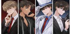Magic Kaito, Heiji Hattori, Kaito Kuroba, Detektif Conan, Detective Conan Wallpapers, Amuro Tooru, Kaito Kid, Anime Friendship, Kudo Shinichi