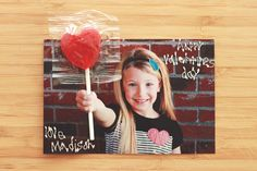 Cute Idea for a Valentine Card! Just take a photo of your child with their fist out. Cut a slit at the top and bottom of your child's fist and slide a heart shaped sucker through them. Valentine Picture, Valentine Pics, Heart Day, Love Days, Valentine's Day Diy, Stuff To Do, Kid Stuff, Cupid, How To Take Photos