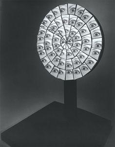 Berenice Abbott, parabolic mirror M.I.T. 1958-1961