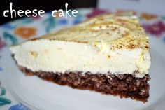 Easter Pie, Cheesecake, Dukan Diet, Healthy Recipes, Healthy Food, Chocolate, Desserts, Sweet, Healthy Foods