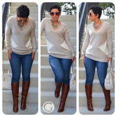 OOTD: Sweater   Boots w/ Chloe