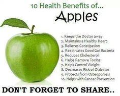 10 Health Benefits Of Apples