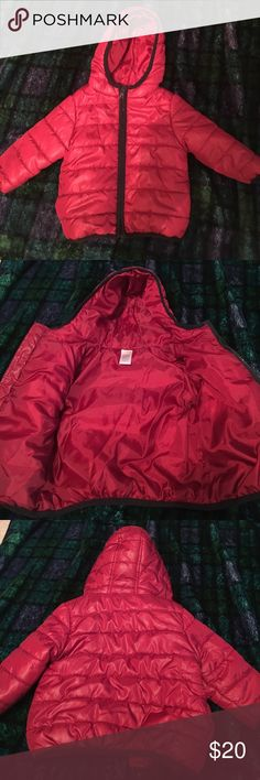 Gymboree red puff coat size 12-24 Months EUC red puff coat by Gymboree size 12-24 Months Gymboree Jackets & Coats Puffers
