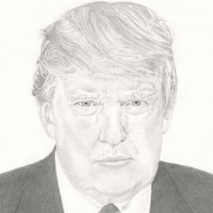 Drawing Donald Trump, President Of The United States, Graphite Pencil, Version, by Sandra Foskey Current President, Donald Trump Jr, Boris Johnson, Pictures To Draw, Light In The Dark, Presidents, Sketches, United States, American