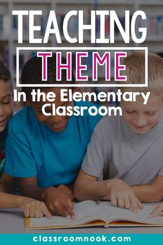 Watch this educational video right now if you're teaching theme in your upper elementary classroom! A complete how to for teaching theme in the upper elementary classroom ...so that students actually get it! Learn about the two common mistakes students AND teachers make when it comes to teaching theme, what strategy to use instead, and get FREE resources to help you! Check out the comprehensive blog post and watch the how-to video to help you teach theme now! Reading Comprehension Strategies, Reading Resources, Reading Activities, Reading Skills, New Vocabulary Words, Vocabulary Practice, Teaching Themes, Third Grade Reading, 21st Century Learning