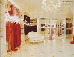 mariah carey's closet. A girl can dream right?