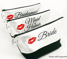 In Stock Now! Bridal Party Toiletry Bags exclusive designs! http://ift.tt/1LMhqo9  #cosmeticpouch #toiletrybag #weddingday #bride #etsy #etsyshop #fireboltcreations #traveler #vacation #travel #etsyseller #makeup #bridal #wedding #bridetobe #weddingday #bridalshower #bridalmakeup #gift #giftideas #gifts #handmade #bridalhair #maidofhonor #zipperpouch #weddingdress #bridesmaid #shopping #handcrafted