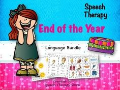 End of the Year Language Bundle: This packet has something for everyone of your language students!-Yes/No Questions-Pronouns-Synonyms-Antonyms-Following Directions-Regular Past Tense Verbs-Irregular Past Tense Verbs-Categories-Compare & Contrast-Requesting-Prepositions-Superlatives-Copulas-Articulation /r/ & /l/-Vocabulary Go Fish DeckDont forget to check out the preview!----------------------------------------------------------------------------------------------Similar products you mig...