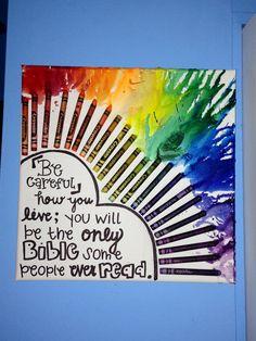 Crayon Art canvas that I made :)