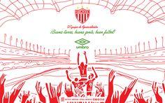 @clubnecaxa El equipo de Aguascalientes • Buena tierra, buena gente, buen futbol. #Umbro #LigraficaMX