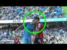 Nolito headbutts Bournemouth's Adam Smith resulting in a red card Football Latest, Bournemouth, Premier League, Youtube, Red, Cards, Maps, Youtubers