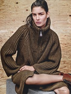 Vogue Russia September 2014 | Ophelie Guillermand by Jason Kibbler - Hermes