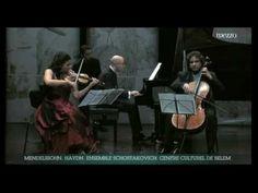 ▶ Haydn Piano Trio Gipsy, 3 mvt - Pinto-Ribeiro, Samouil, Grimm - DSCH - YouTube
