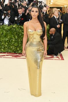"""This year's MET Gala theme is """"Heavenly Bodies: Fashion and the Catholic Imagination."""" FLAWLESS Kim K in Versace of course!!"""