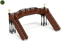 station footbridge (from Carl Greatrix) reddish brown & black