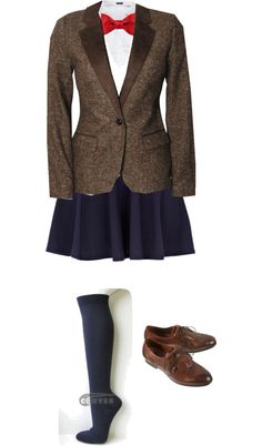 """""""11th Doctor Lady Style"""" by bonanashelby on Polyvore"""