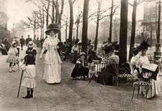 champs elysees 1910
