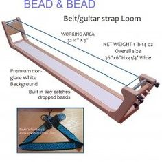 Amazon.com: Bead and Bead Loom - Guitar Strap/Belt: Home & Kitchen