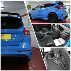 We had a few more Ford Focus RS's arrive last week here's another great value example.  Ford Focus 2.3 RS MK3. 2016 1200 Miles 32999.  One Previous Owner From New Exclusive Nitrous Blue A 745 Cost Option A Big Host Of Extras On This Car Including Premium Ford SYNC2 DAB Navigation System Colour Touchscreen Sat Nav Reverse Camera Electric Sunroof 10 Speaker Premium Sony Stereo Including Sub Woofer RS Dynamica Recaro Shell Sports Seats Luxury Package Cruise Control Keyless Entry With Push…