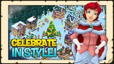 Build a beautiful winter wonderland in the North Pole and save our beloved winter holidays!